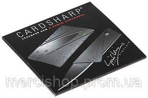 Нож-кредитка Cardsharp упакованный в подарочную упаковку-книжечку