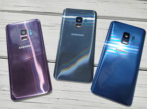 Задняя крышка для Samsung G960 Galaxy S9 пурпурный (со стеклом камеры), фото 2