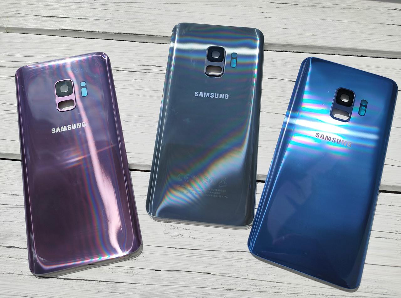 Задняя крышка для Samsung G960 Galaxy S9 пурпурный (со стеклом камеры)