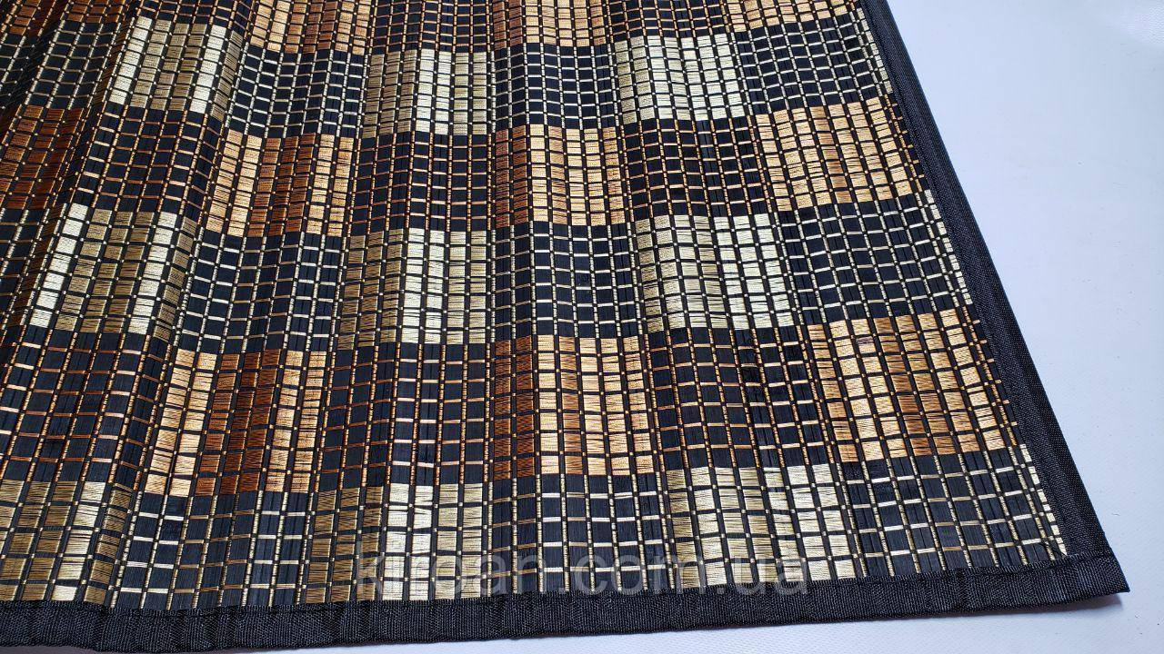 Бамбуковый коврик на стол 60 х90 см (Обшитые края)