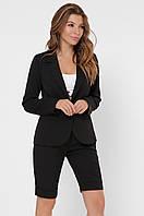 Дизайнерский женский костюм с пиджаком и бермудами KM-2135-8