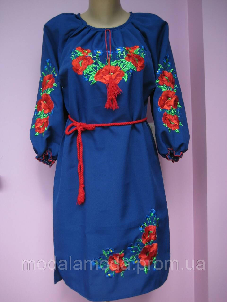 Платье вышыванка