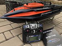 Карповый кораблик для завоза прикормки SPECTRE + GPS Автопилот Штатный глубиномер