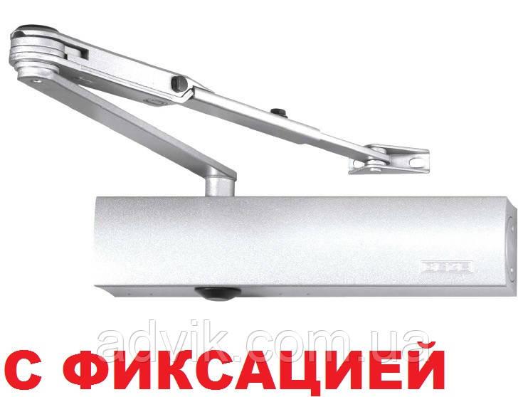 Доводчик Geze TS 4000 EN 1-6 с фиксацией (белый)