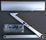 Доводчик Geze TS EN 4000 1-6 з фіксацією (срібний), фото 2