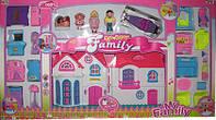 Кукольный дом с мебелью 3918