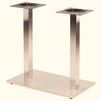 Ножки, база для стола двойная Е25 из нержавеющей стали