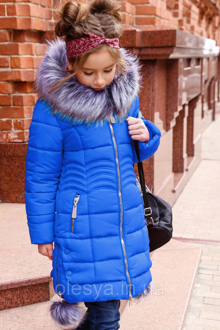 Пальто детское Кина для девочек-ТМ Nui Very Размер 116 122