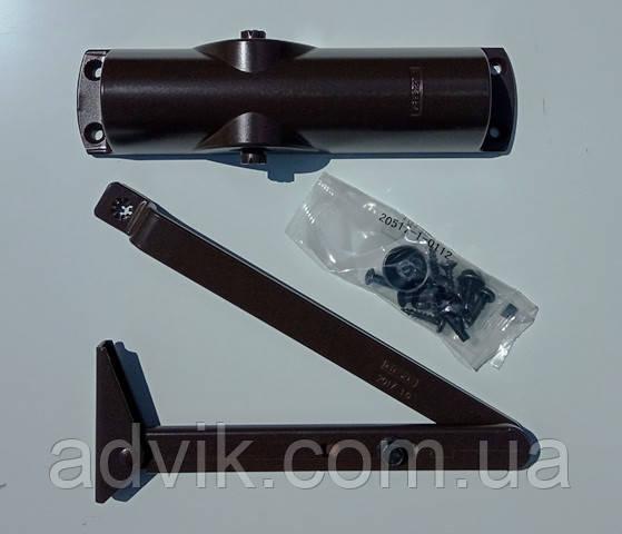 Доводчик Geze TS 1000 C с рычажной тягой (коричневый)