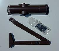 Доводчик Geze TS 1000 C с рычажной тягой (коричневый), фото 1