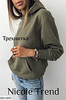 Женское худи,женская кофта с капюшоном,женский батник, фото 1