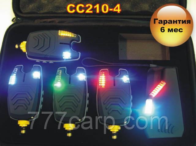 Набор Сигнализаторов Поклевки Carp Cruiser FA210-4 (4+1) с беспроводным радио пейджером продажа в Украине
