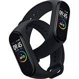 Фитнес браслет M4 в стиле Xiaomi Mi Band 4 (Smart Band) Black Умный браслет Фитнес трекер, фото 2