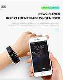 Фитнес браслет M4 в стиле Xiaomi Mi Band 4 (Smart Band) Black Умный браслет Фитнес трекер, фото 9