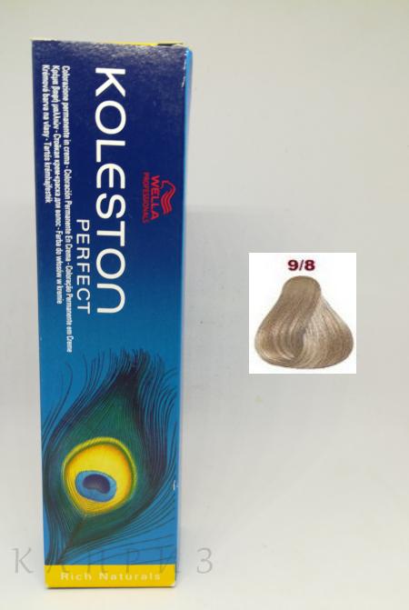 Крем-краска Wella Professionals Koleston Perfect 9/8, 60 мл