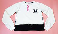 Модный топ  для девочки  с рваным карманом  рост 128.140.152.164, фото 1