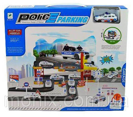 Детский паркинг с машинкой Police Parking 660-127 - Интернет-магазин Моникс в Львове