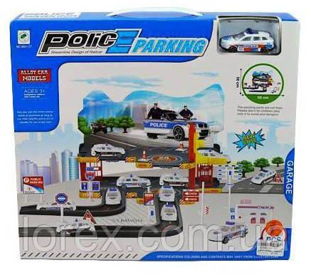 Детский паркинг с машинкой Police Parking 660-127 - Интернет-магазин Лорекс в Львове
