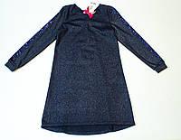 Оригинальное платье для девочки  рост 122.128.140.146 см, фото 1