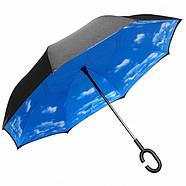 Зонт обратного сложения Up-Brella голубое небо R187149, фото 5