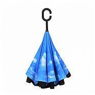 Зонт обратного сложения Up-Brella голубое небо R187149, фото 6