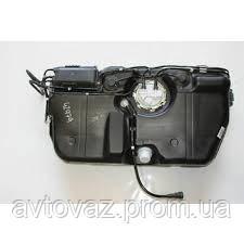 Бак паливний, бензобак ВАЗ 1117, ВАЗ 1118, ВАЗ 1119 Калина, ВАЗ 2190 Гранту інжекторний пластик В ЗБОРІ