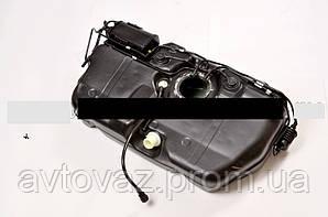 Бак паливний, бензобак ВАЗ 1117, ВАЗ 1118, ВАЗ 1119 Калина, ВАЗ 2190 Гранту інжекторний пластик голий