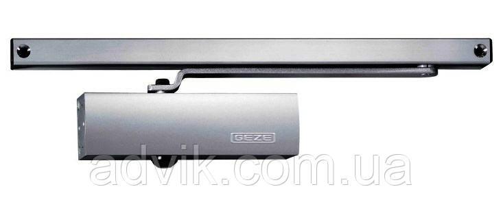 Доводчик Geze TS 1500 G со скользящей тягой (серый)