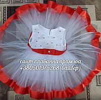 Детское нарядное платье на 1 годик