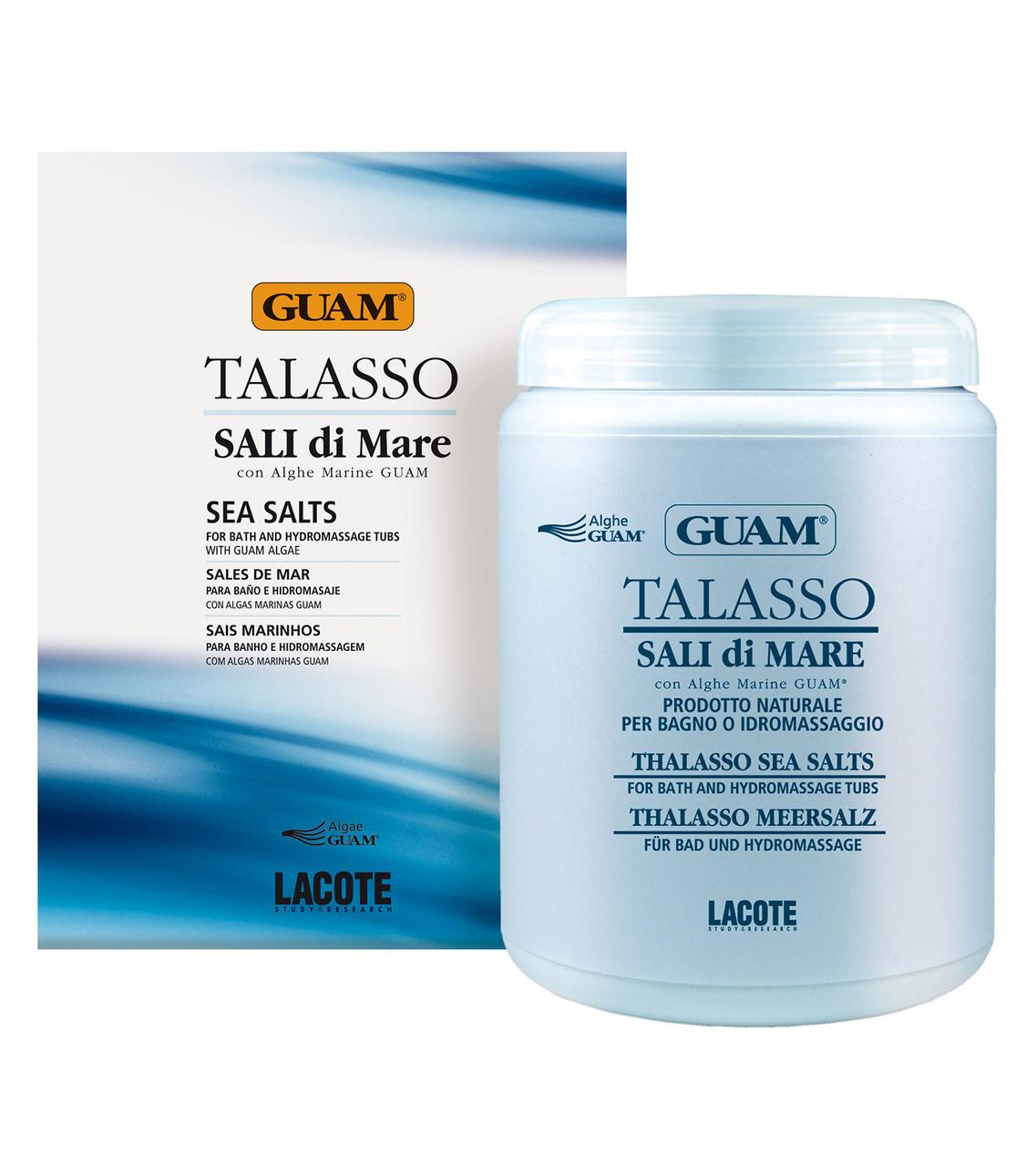 GUAM Концентрированная морская соль ТАЛАССО 1000 г