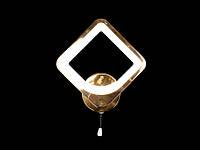 Светодиодное бра  золото 8060-1