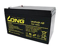 Аккумулятор Long 12V 12Ah Черный (PC008)