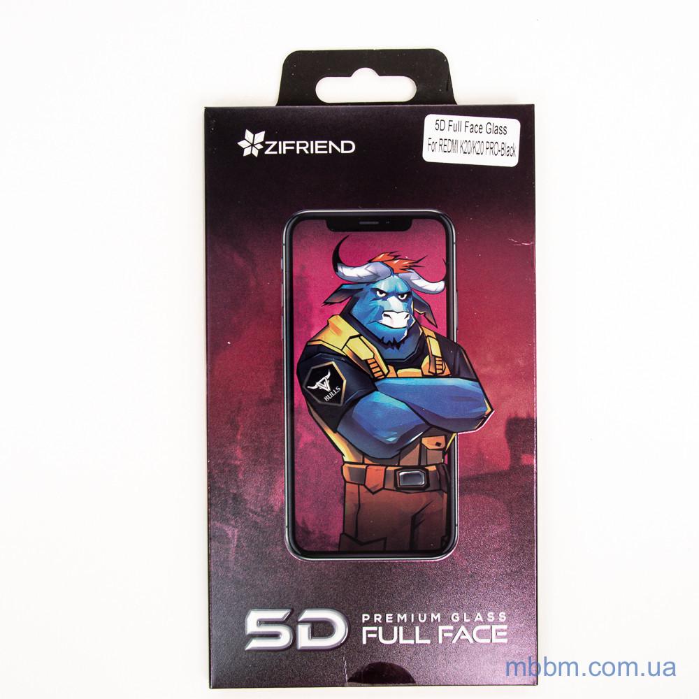 Защитное стекло Zifriend 5D Xiaomi Redmi 7A black