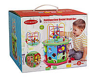 Деревянная игрушка-сортер 10 в 1 + Лабиринт