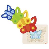 Детские пазлы для малышей Бабочка goki 57486G