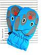 Детские болоневые варежки - длина 15-16 см, фото 2