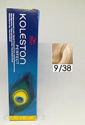 Крем-краска Wella Professionals Koleston Perfect 9/38, 60 мл