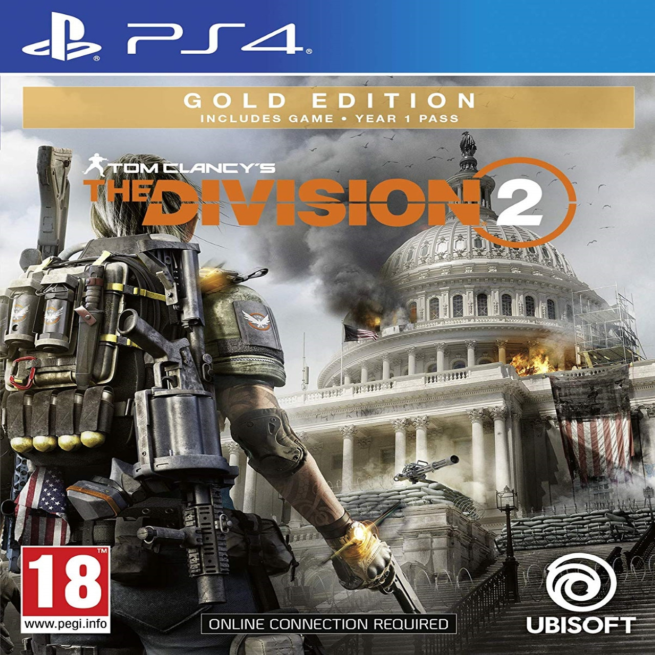 Tom Clancy's The Division 2 Gold Edition RUS PS4 (NEW)