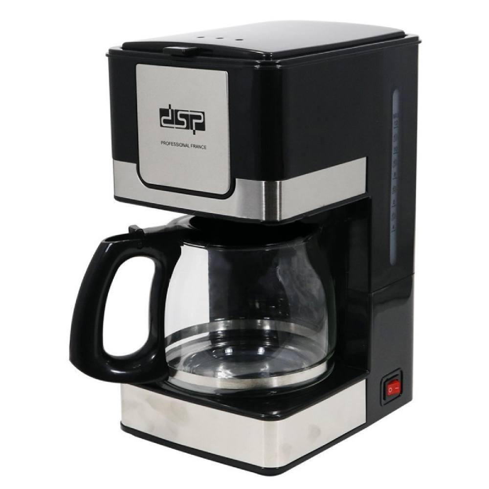 Кофеварка DSP Kafe Filter KA3024, 800Вт, 1,2л.
