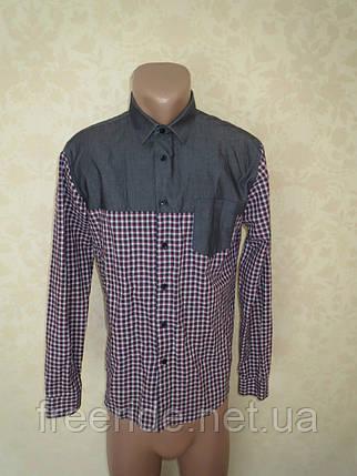 Фирменная стильная рубашка ZARA MAN (M), фото 2