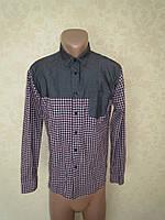 Фирменная стильная рубашка ZARA MAN (M)