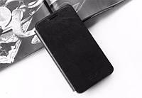 Кожаный чехол книжка MOFI для Meizu MX5 чёрный