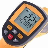 ПИРОМЕТР GM700 KMOON, инфракрасный бесконтактный с диапазоном измерения температур от -50°С до 750°С.