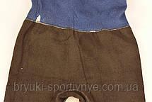 Лосины зимние под джинс на махровой подкладке, фото 3