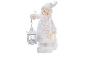 Новогодняя фигура Санта с фонариком 33см BonaDi 820-171