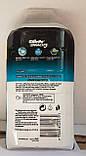 Набір бритвений станок Gillette Mach3 + 3 змінних картриджа, фото 2