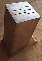 Деревянная настольная подставка для ножей.