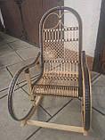 "Кресло-качалка ""Ротанг"" черная, фото 3"