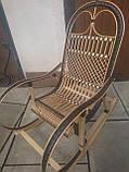 "Кресло-качалка ""Ротанг"" черная, фото 4"