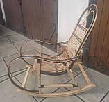 "Кресло-качалка ""Ротанг"" черная, фото 5"
